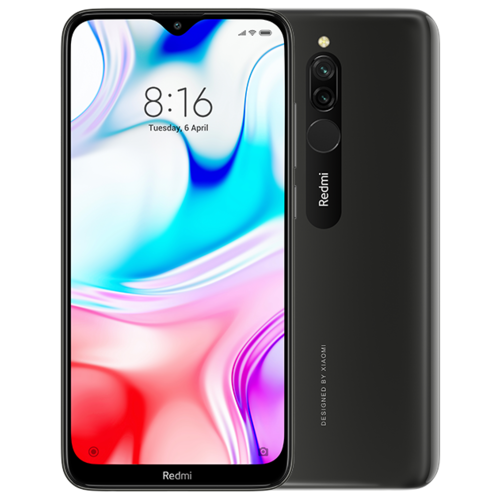 Смартфон Xiaomi Redmi 8 3/32Gb Black (черный)