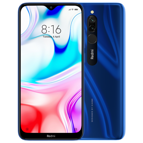Смартфон Xiaomi Redmi 8 3/32Gb Blue (синий)